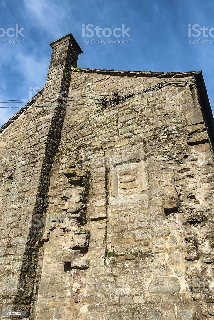 Rough Stone Cottage stock photo