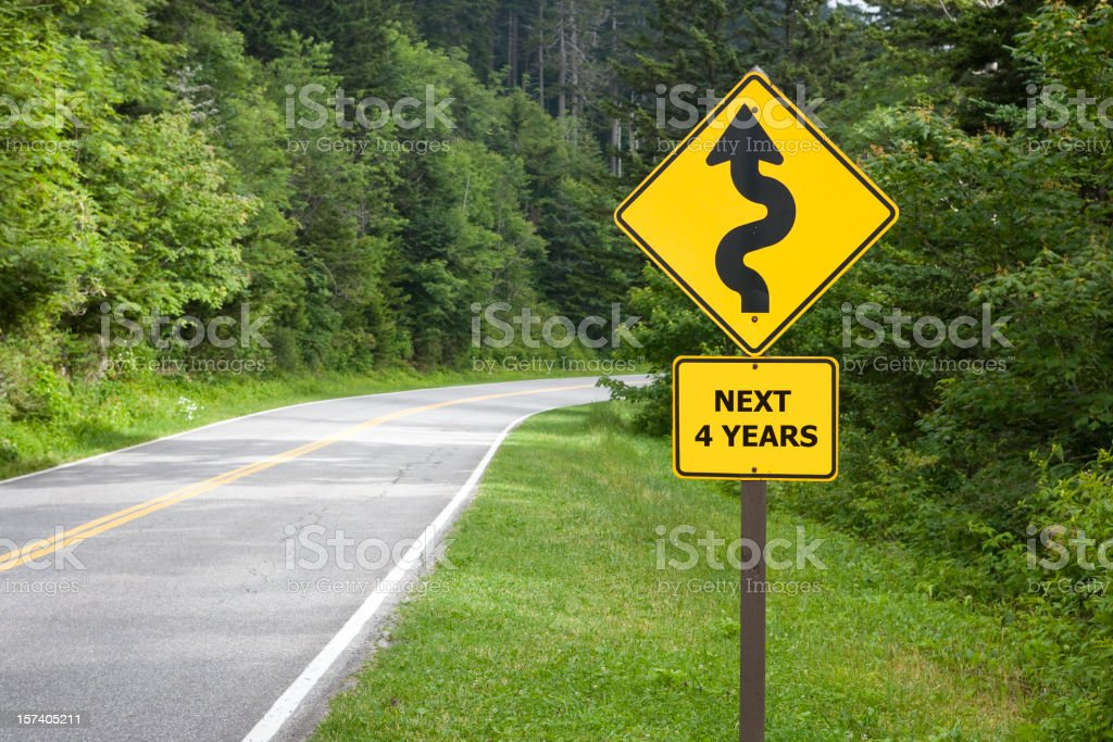 Rough Times Ahead! royalty-free stock photo