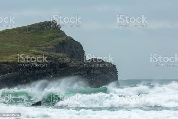 Photo of Rough Weather, Whipsiderry Beach, Porth, Newquay, Cornwall