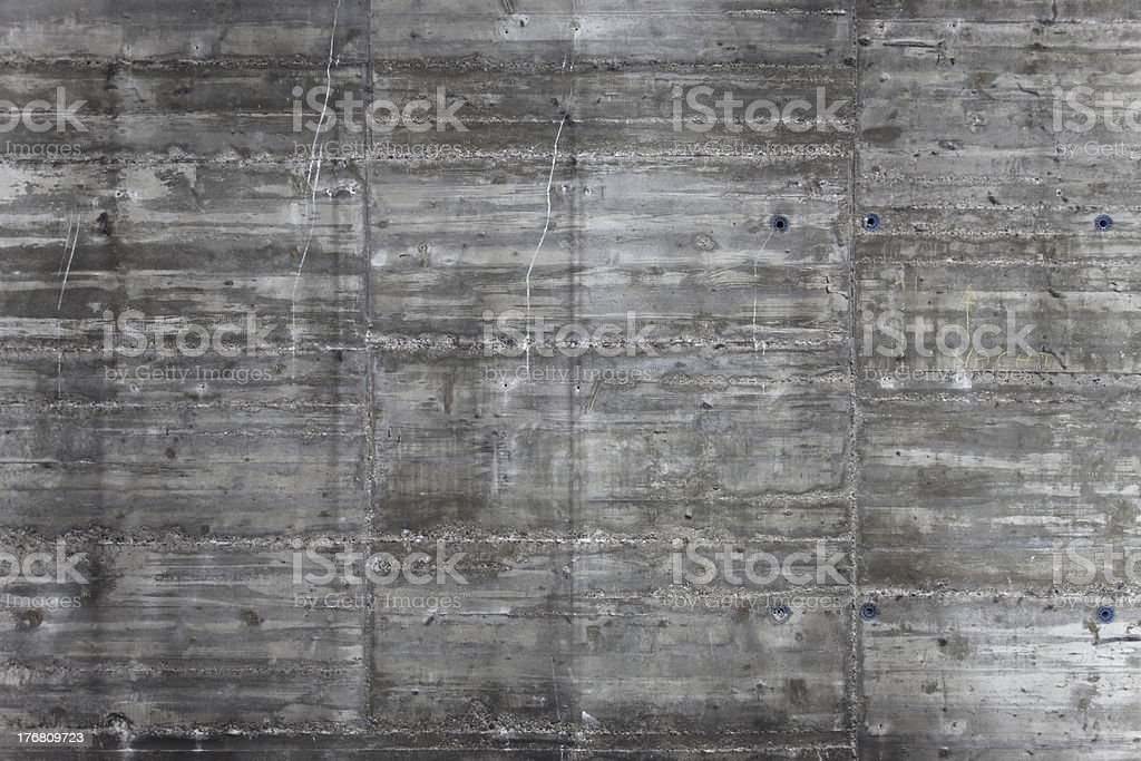 rough, weathered concrete texture royalty-free stock photo