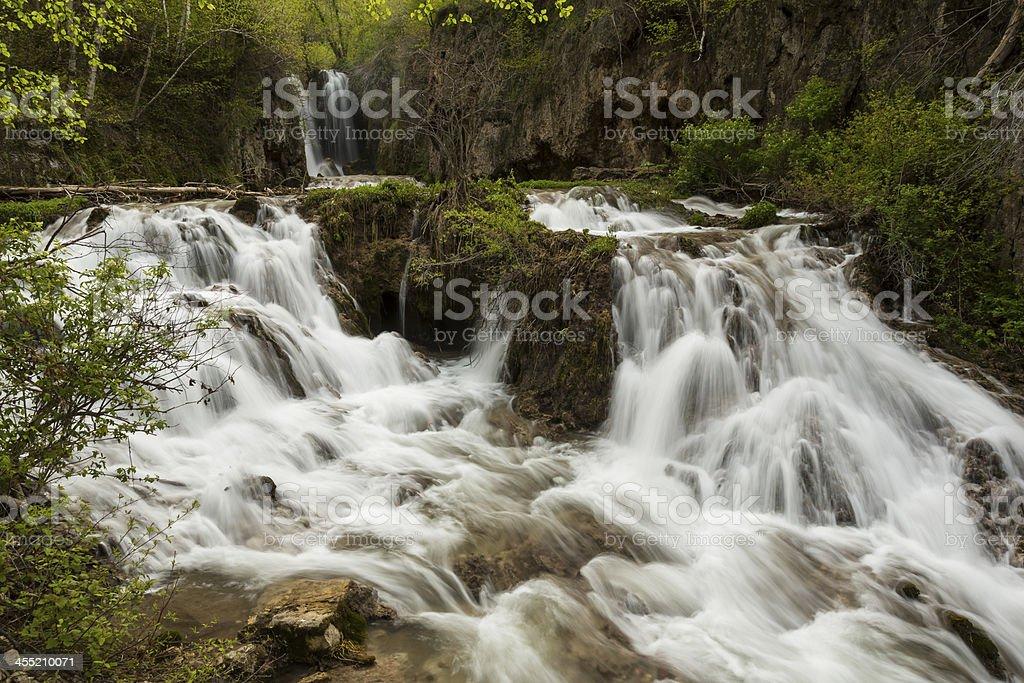 Roughlock Falls stock photo