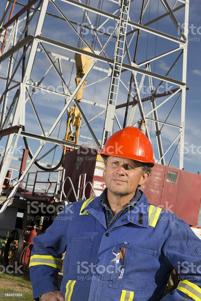 Roughneck royalty-free stock photo