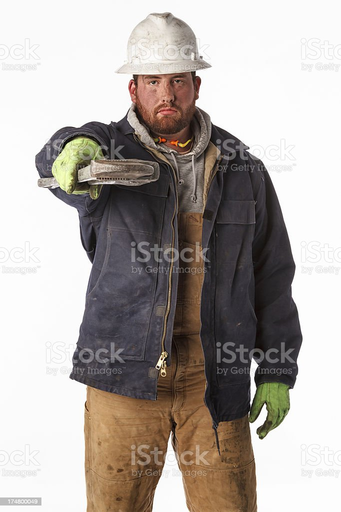 Roughneck Portrait royalty-free stock photo