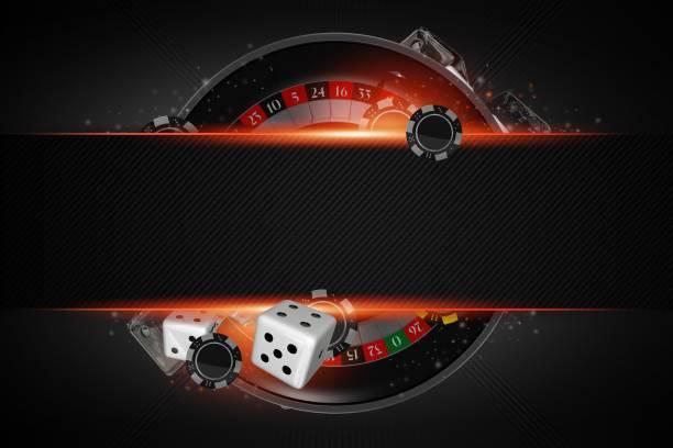 Roulette Copy Space Concept stock photo