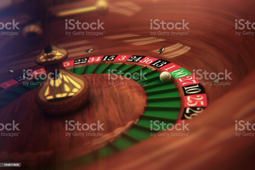Roulette Detail royalty-free stock photo