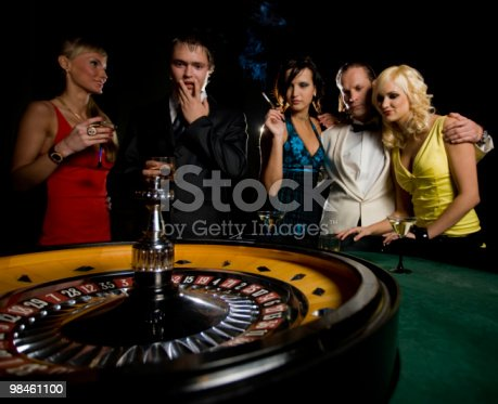 Roulette In Casino Stock Photo & More Pictures of Activity