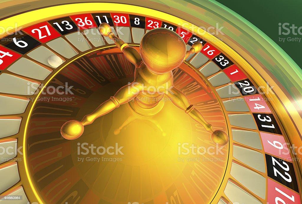 Roulette - Las Vegas series royalty-free stock photo