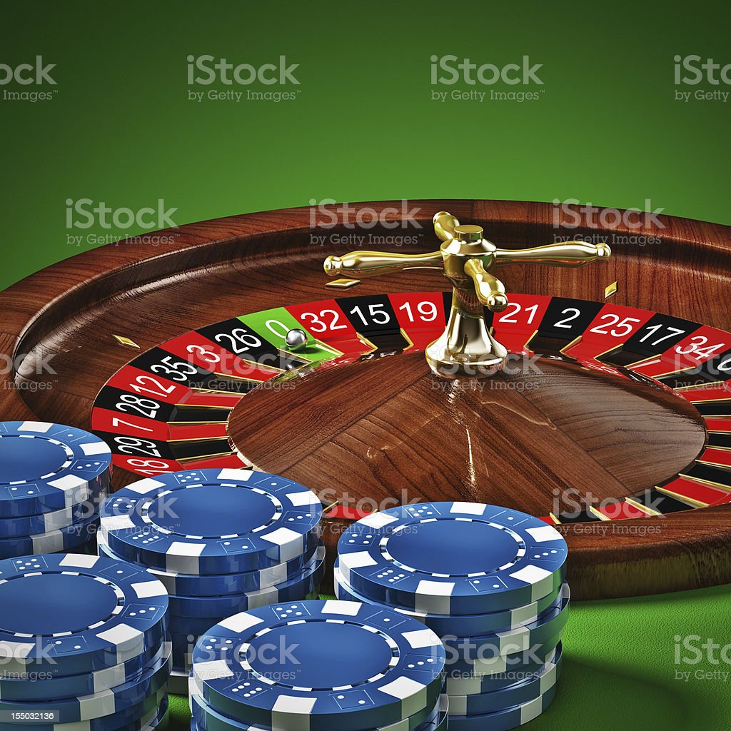 Roulette royalty-free stock photo