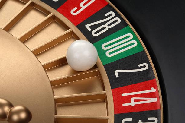 Roulette stock photo
