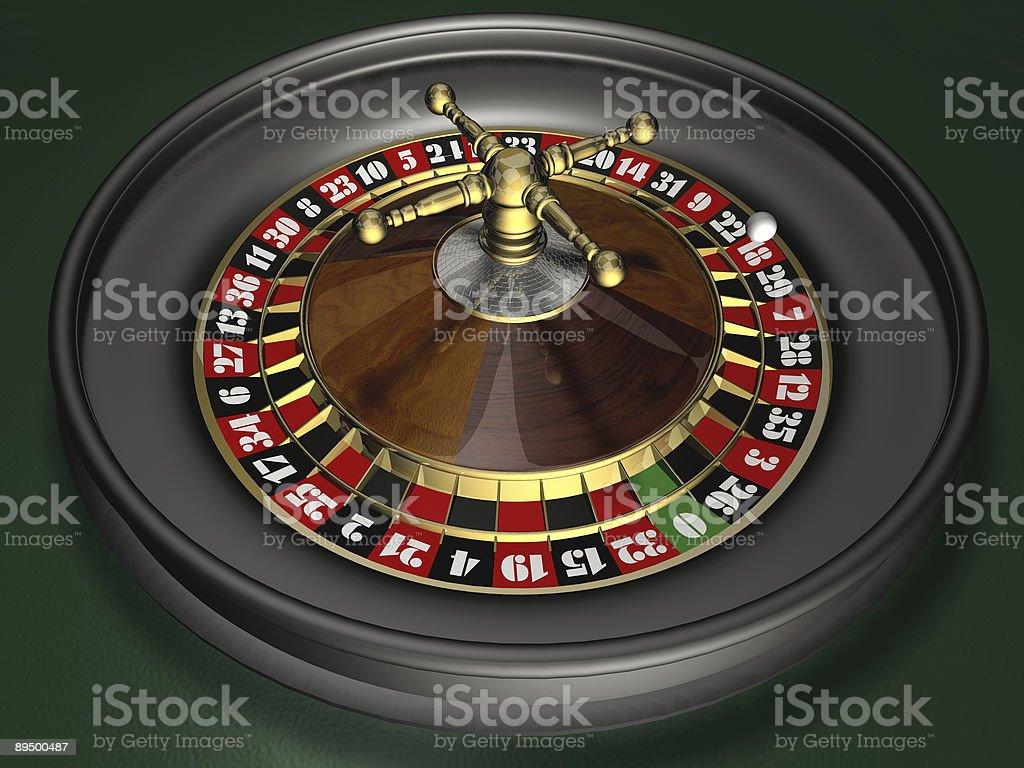 Roulette royaltyfri bildbanksbilder