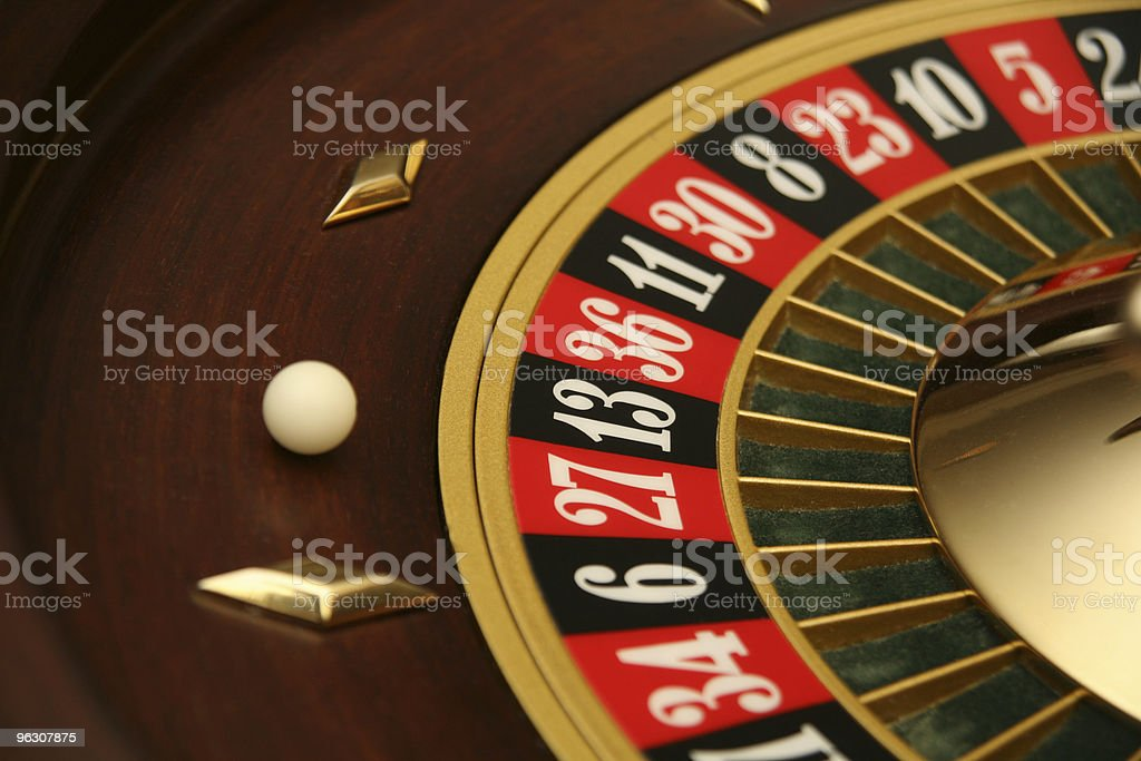 Roulette Spin royalty-free stock photo