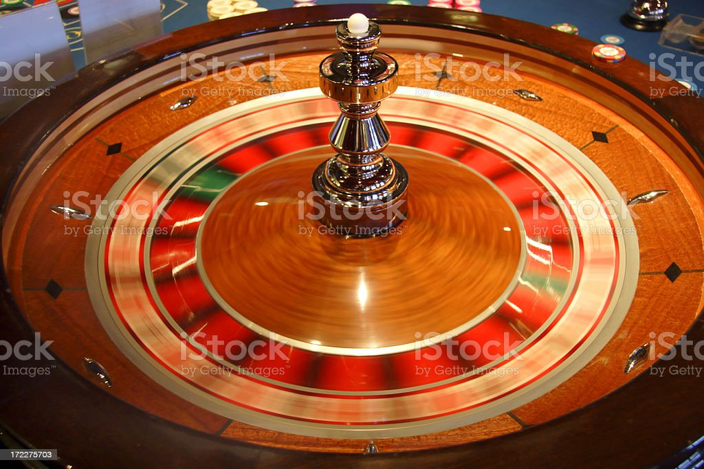 Roulette Wheel 1 royalty-free stock photo
