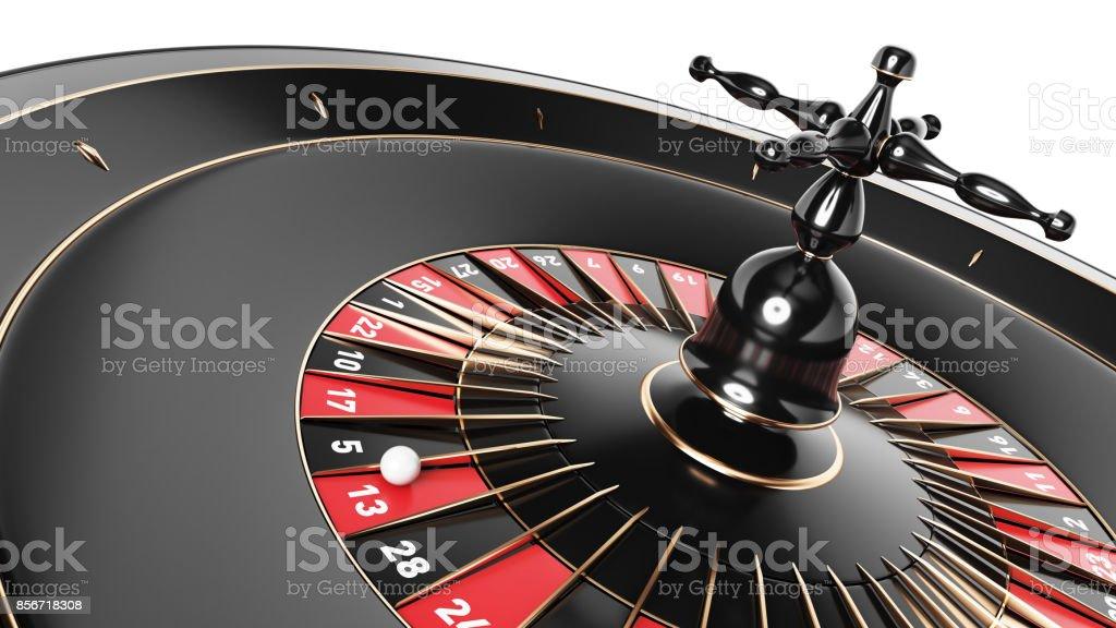 3D Roulette-Rad – Foto