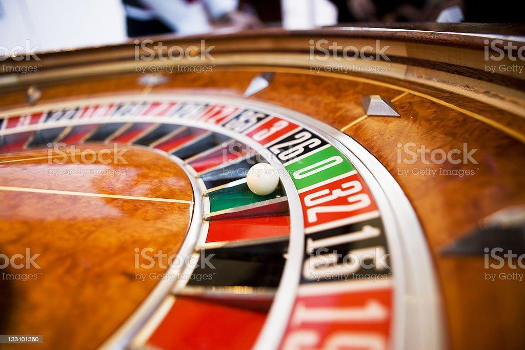 Roulette wheel XXL royalty-free stock photo