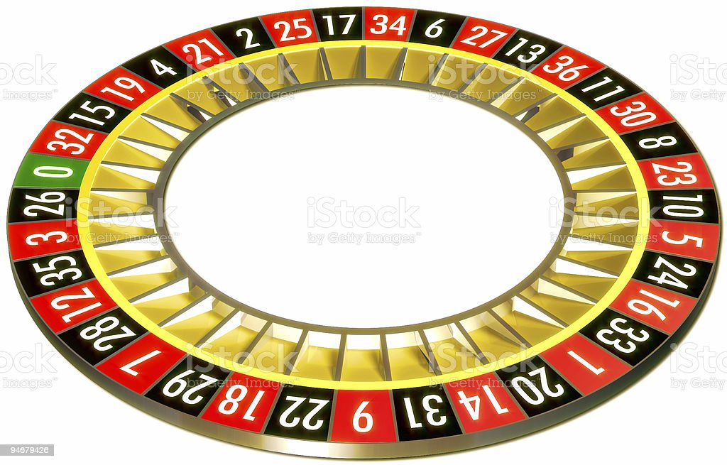 Roulette without ball royalty-free stock photo