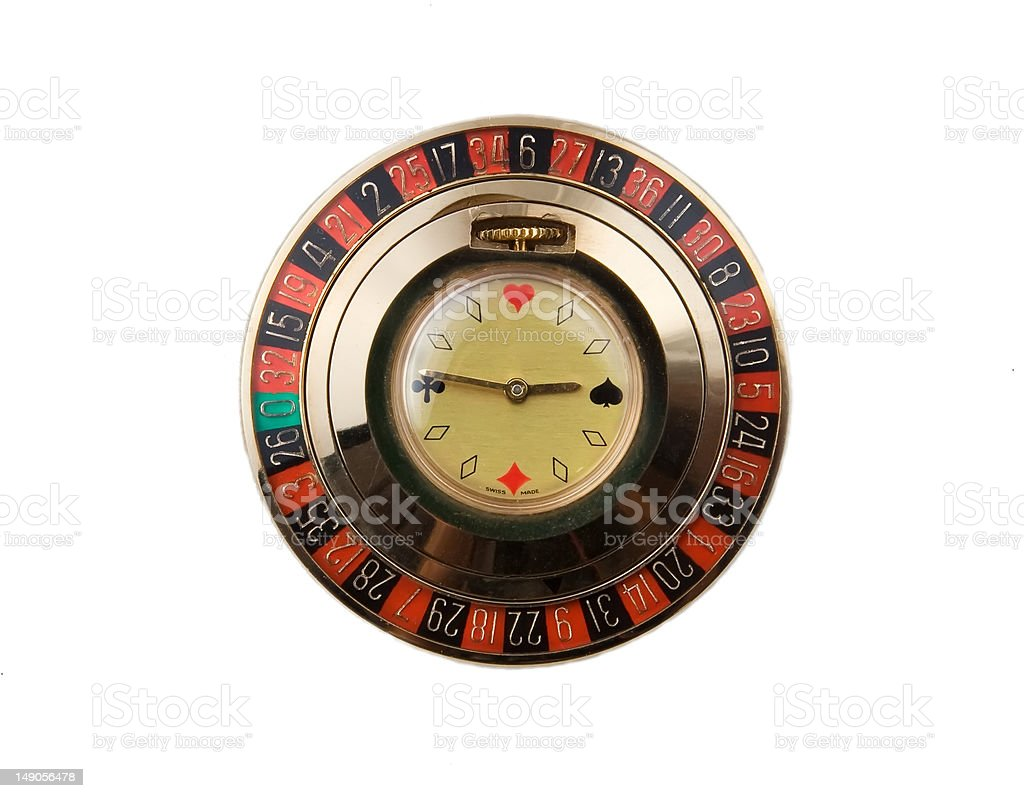 Roullete-watch royalty-free stock photo