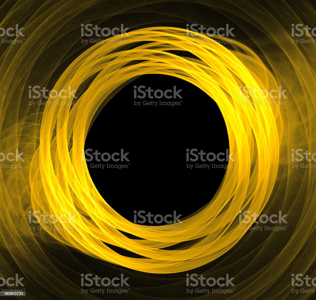 round abstract frame, place for text - Royalty-free Abstract Stock Photo