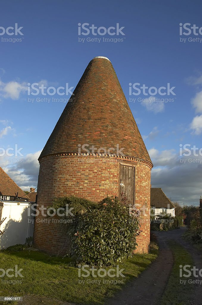 round barn royalty free stockfoto