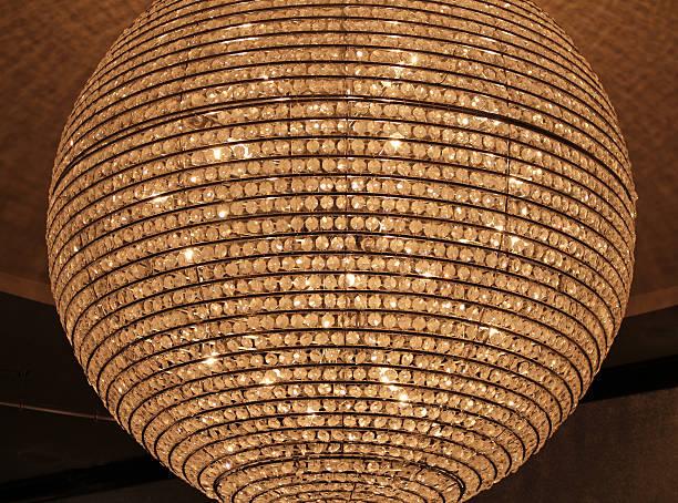 Round Chandelier stock photo