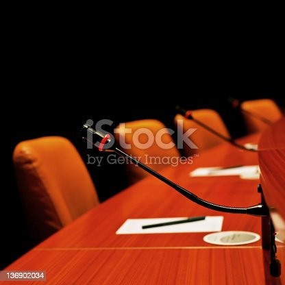 istock XL round conference table 136902034