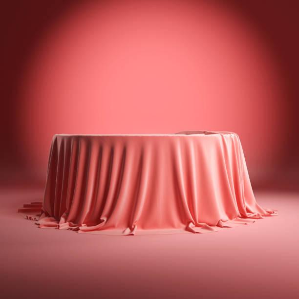 Round empty podium covered with rose cloth picture id1202892071?b=1&k=6&m=1202892071&s=612x612&w=0&h=jhsz7eoqb7tokugfrtbm4wqgzmtxizqn9ttklfgbq6m=