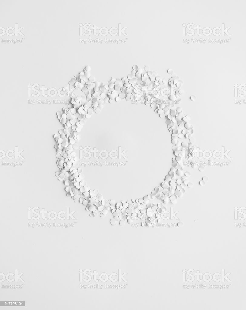 round frame stock photo
