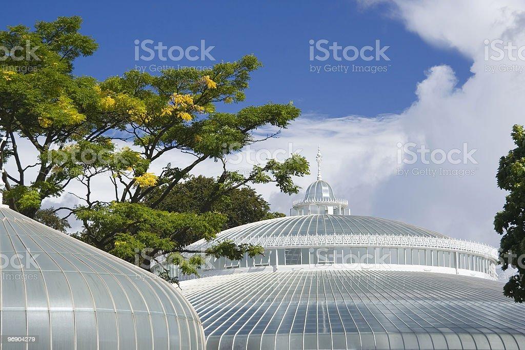 round glasshouse royalty-free stock photo