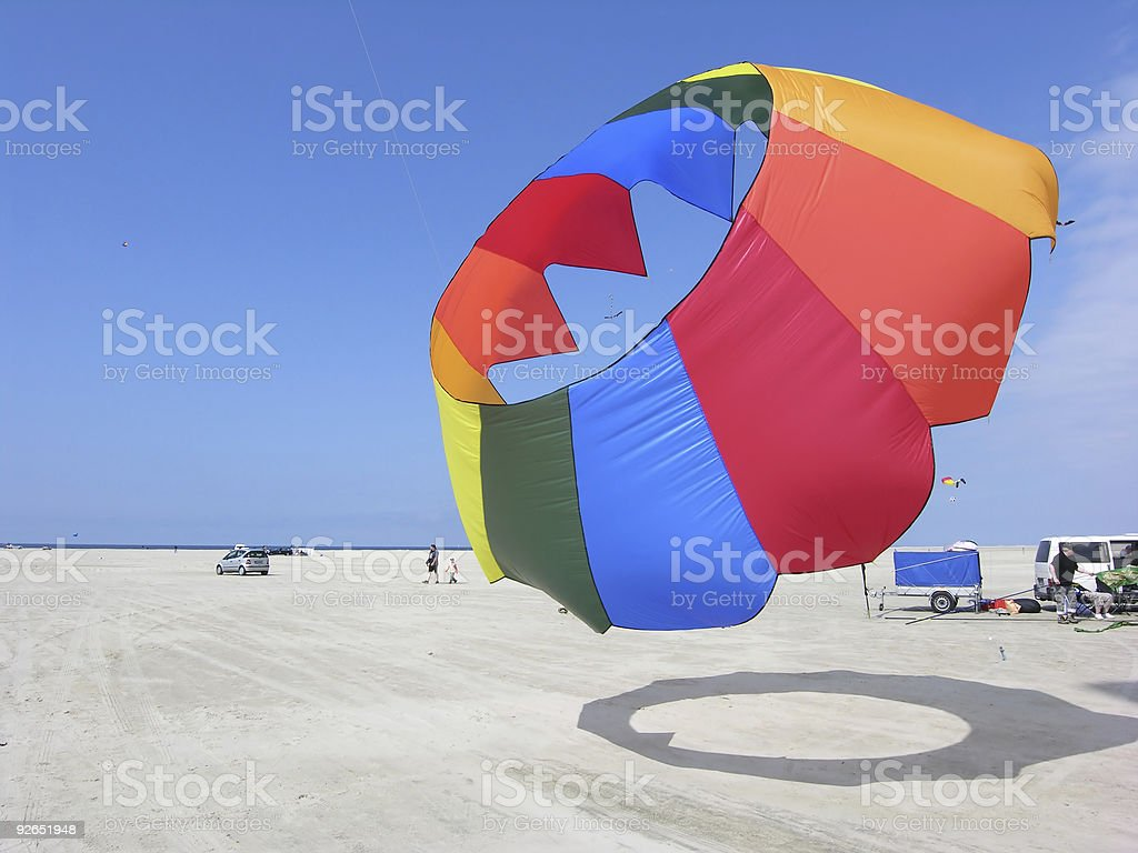 Round in Air royalty-free stock photo