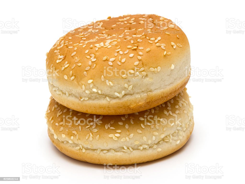 Round loaf of bread stock photo