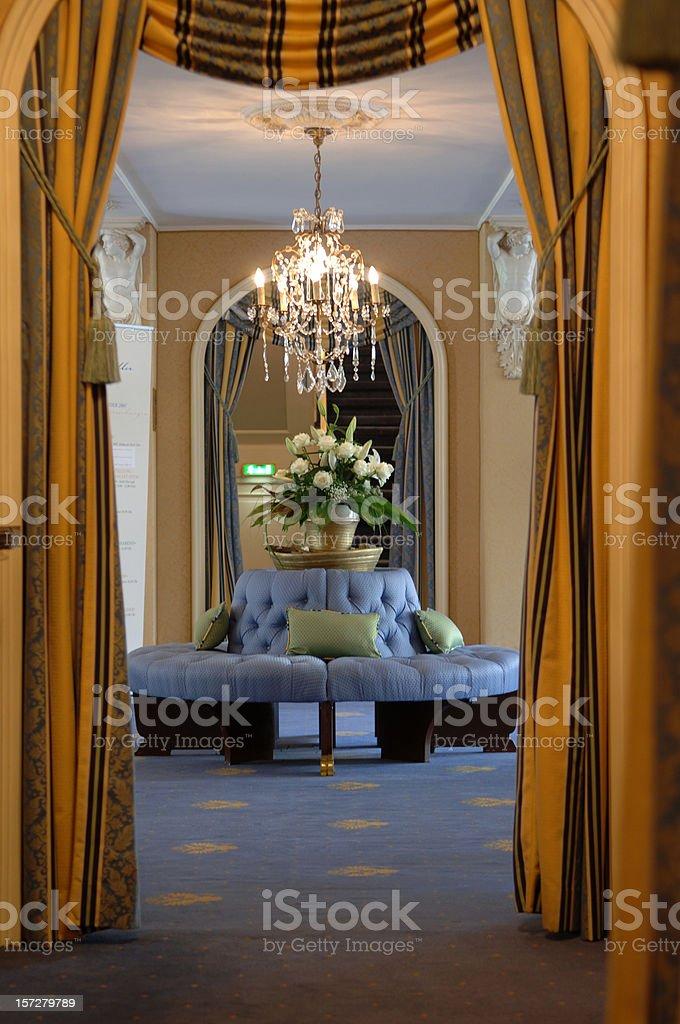 Round lounge royalty-free stock photo
