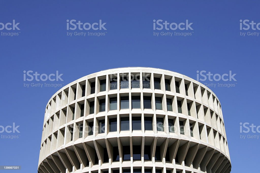 Round Office Building royalty-free stock photo