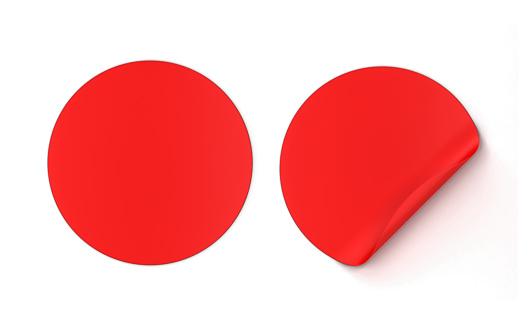 istock Round sticker 968086558