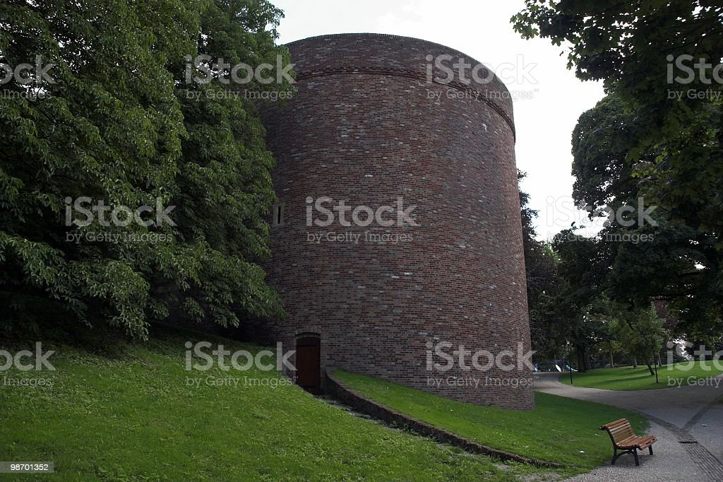 Round Tower royalty-free stock photo