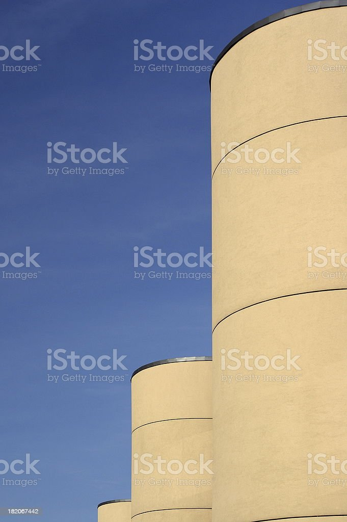 Round Towers royalty-free stock photo