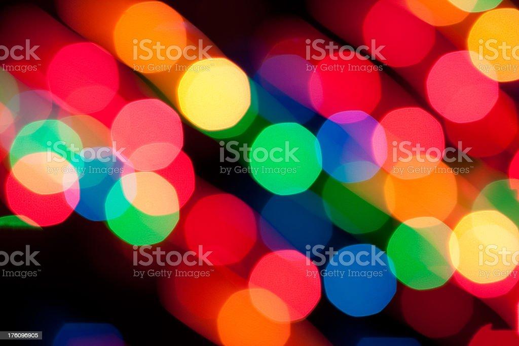 Round Vibrant Circles royalty-free stock photo