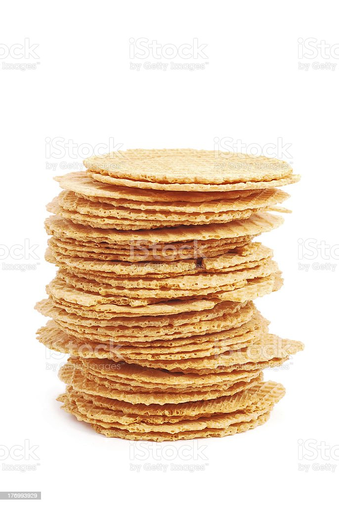 round wafers royalty-free stock photo