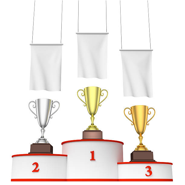 Winners Podium Royalty Free Wi...