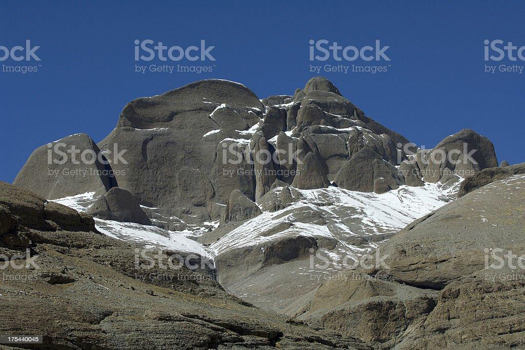 Rounded Mountains stock photo