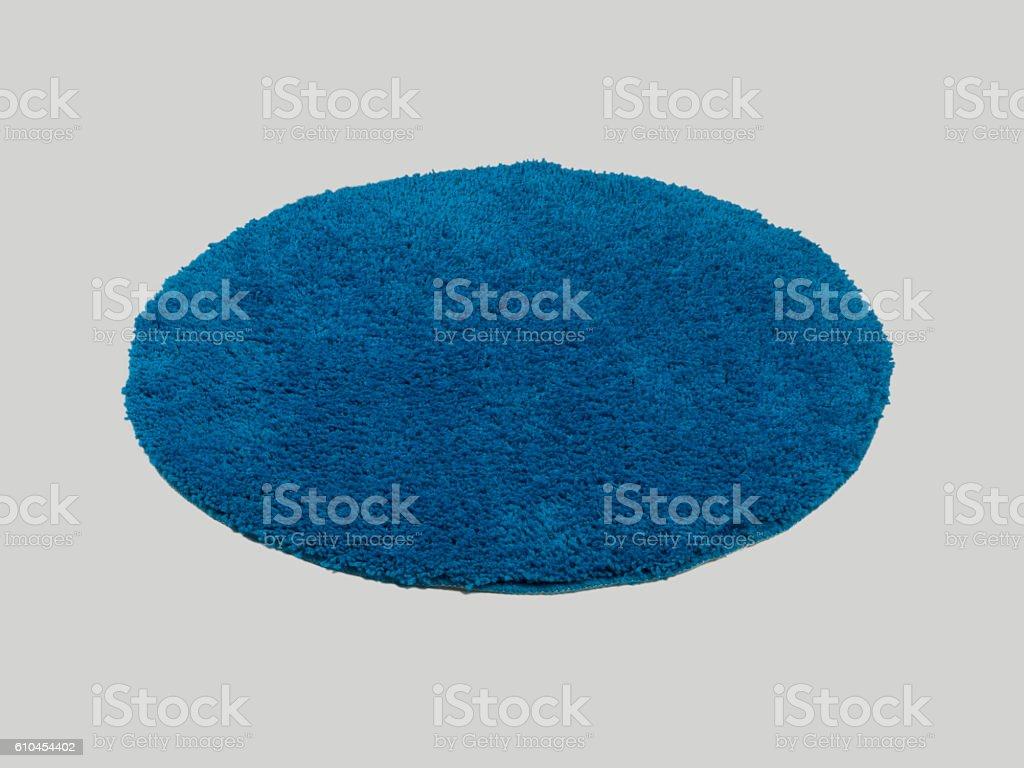 Rounded shape modern carpet