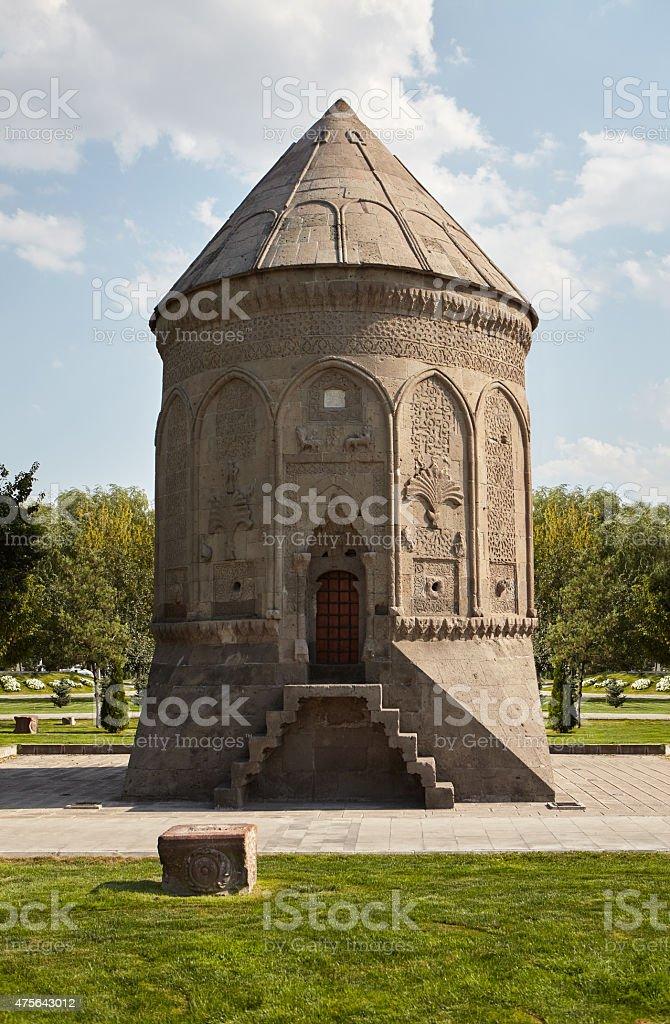 Rounded Tomb / Doner Kumbet, Kayseri / TURKEY stock photo