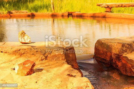 980314112 istock photo rounded well of water moving into tunnel 497655932