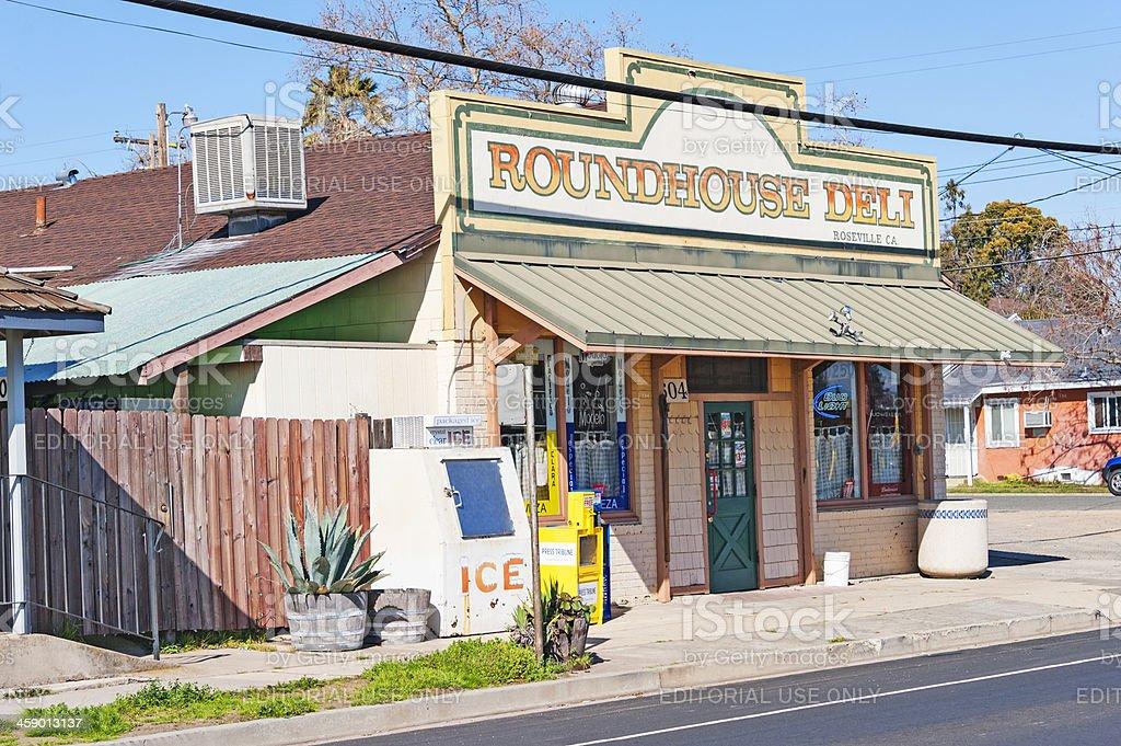 Roundhouse Deli royalty-free stock photo