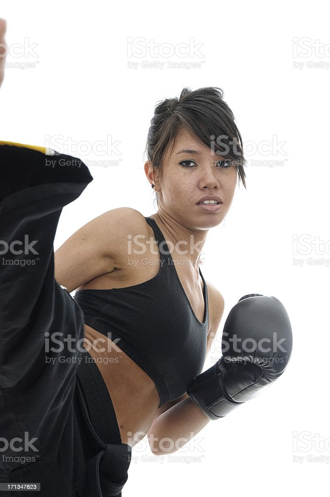 Roundhouse fitness stock photo