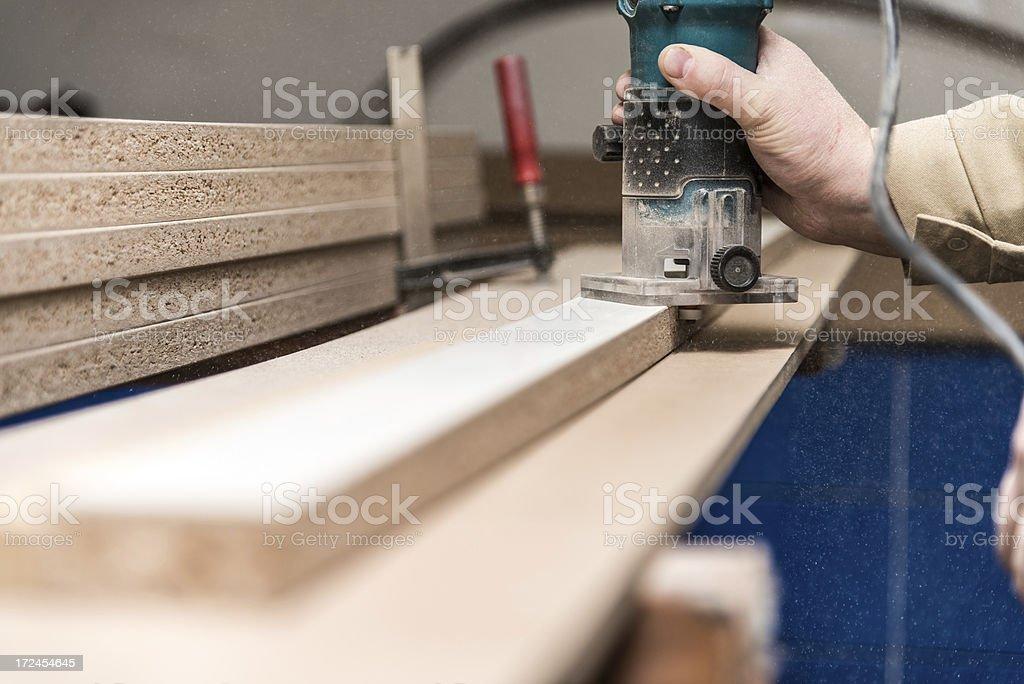 Rounding boards stock photo