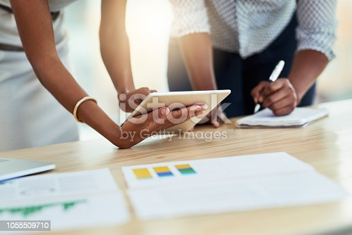 istock Rounding up the latest business stats 1055509710