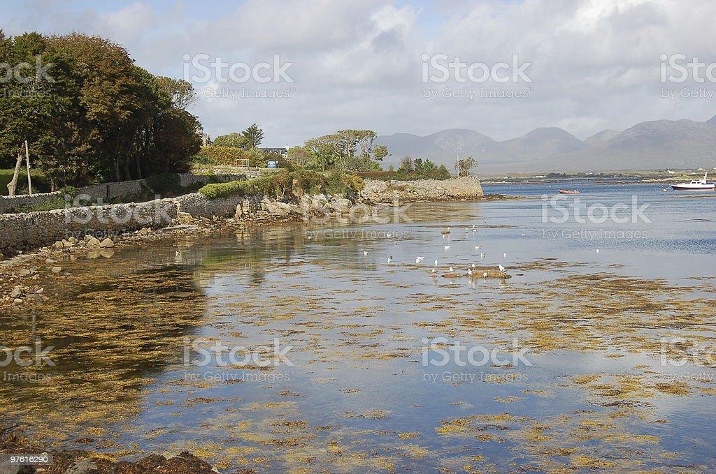 Roundstone in Connemara royalty-free stock photo