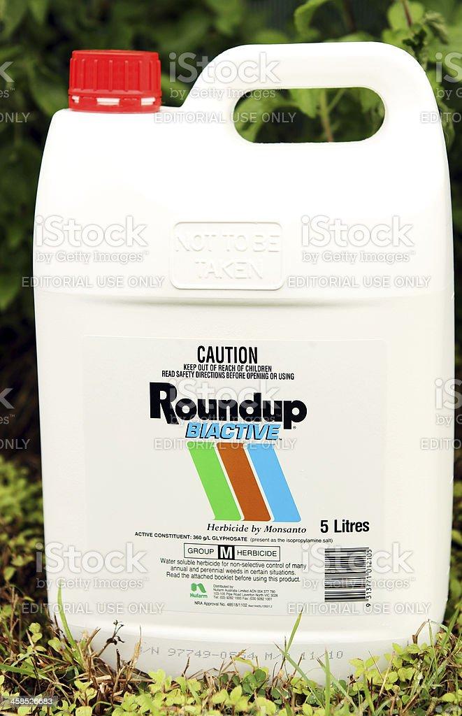Roundup stock photo