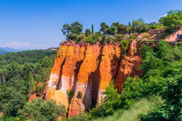 Roussillion, Provence, Frankreich. – Foto