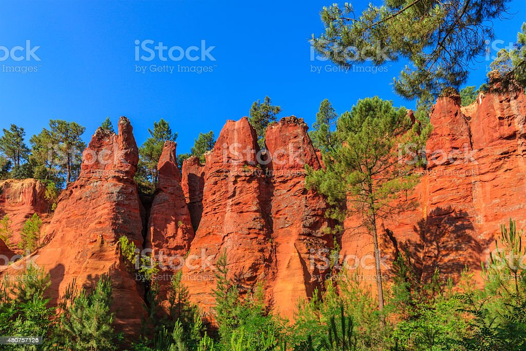 Roussillon - France stock photo