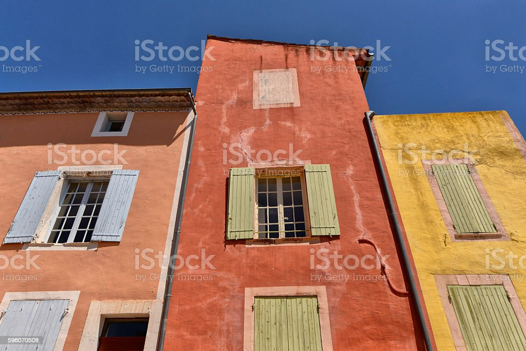Roussillon, Provence, France royalty-free stock photo